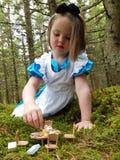 Jätte Alice i underland Royaltyfri Fotografi