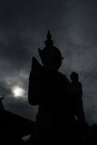 Jätte av Wat Arun Fotografering för Bildbyråer