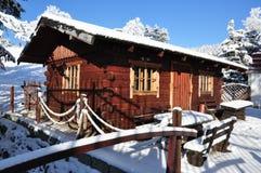 Jätte- berg/Karkonosze, Karpacz vinter Royaltyfria Bilder