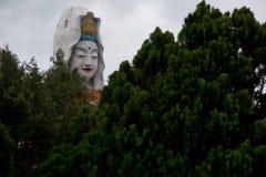 Jätte Bhudda i Malaysia royaltyfria foton