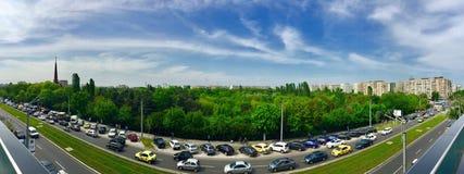 Jätte Bucharest, Rumänien Royaltyfri Foto