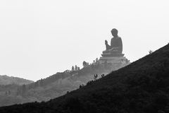Jätte- Buddha. Royaltyfria Foton