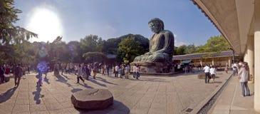 Jätte- Buddha av templet i Japan Fotografering för Bildbyråer