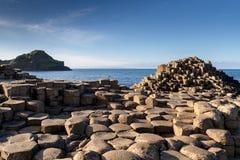 Jätte Causeway som är nordlig - ireland Royaltyfria Bilder