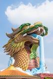 Jätte- drakestaty Royaltyfri Foto