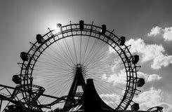 Jätte Ferris Wheel, Wien Arkivfoton