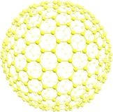 Jätte- fullerene C500 Arkivfoton