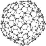 Jätte- fullerenemolekyl C240 Royaltyfri Bild