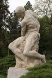 Jätte- (Gigant) staty av Dimitrie Paciurea Royaltyfri Fotografi