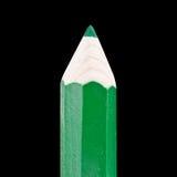 jätte- grön blyertspenna Arkivfoto