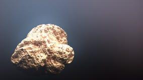Jätte- guld- klump Arkivfoton
