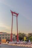 Jätte- gunga Bangkok Royaltyfria Bilder