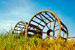 jätte- hjul Royaltyfri Bild