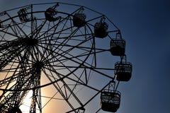 jätte- hjul Fotografering för Bildbyråer