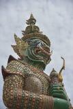 Jätte i tempel Royaltyfri Bild
