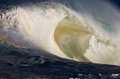jätte- ihålig wave Royaltyfria Foton