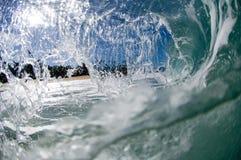 jätte- ihålig wave Royaltyfria Bilder