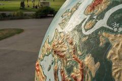 Jätte- jordklot royaltyfria foton