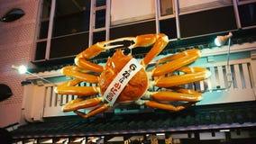 jätte- krabbaaffischtavla för flyttning 3D lager videofilmer