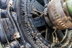 Jätte- maskiner Arkivfoton
