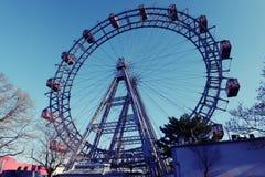 Pariserhjul Prater, Wien Arkivfoton
