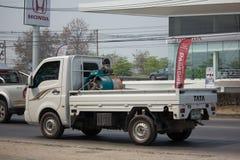 Jätte- mini- lastbil för privat Tata SuperACE stad Arkivbilder
