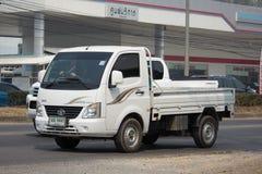 Jätte- mini- lastbil för privat Tata SuperACE stad Royaltyfri Foto