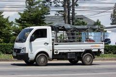 Jätte- mini- lastbil för privat Tata SuperACE stad Royaltyfria Bilder