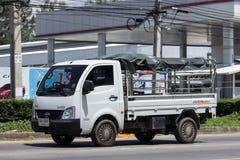 Jätte- mini- lastbil för privat Tata SuperACE stad Arkivfoton