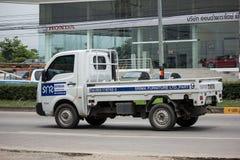 Jätte- mini- lastbil för privat Tata SuperACE stad Arkivbild