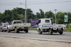 Jätte- mini- lastbil för privat Tata SuperACE stad Royaltyfria Foton