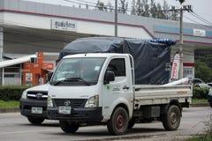 Jätte- mini- lastbil för privat Tata SuperACE stad Royaltyfri Fotografi