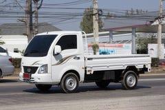 Jätte- mini- lastbil för privat Tata SuperACE stad Royaltyfri Bild