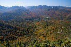 Jätte Mountain View, Adirondack Forest Preserve, New York arkivfoton