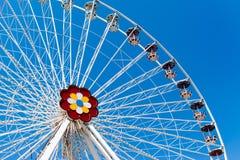 Jätte- pariserhjul Royaltyfri Foto