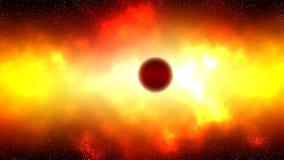jätte- röd stjärna Royaltyfria Foton