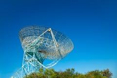 jätte- radioteleskop Royaltyfria Foton