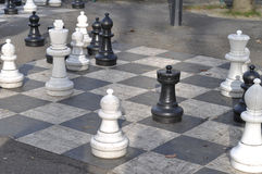Jätte- schack Royaltyfria Foton