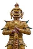 Jätte- skulptur på tempelet i Thailand Royaltyfri Foto