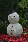 Jätte- Snowman Royaltyfri Bild