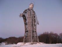 Jätte- staty av Jesus Fotografering för Bildbyråer