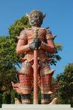 Jätte- staty av Thailand Arkivbilder