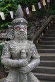 Jätte- staty på den främre porten royaltyfri bild