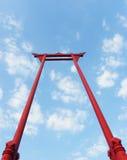 jätte- swing Arkivbilder