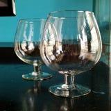 Jätte- vinexponeringsglas Royaltyfri Bild