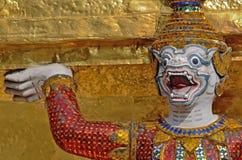 Jätte Wat Pra Kaeo Temple, Thailand Arkivfoton