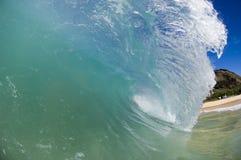 jätte- wave Royaltyfria Bilder