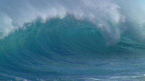 jätte- waves arkivfilmer