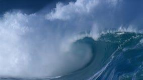 jätte- waves lager videofilmer