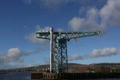 Jättekranen på Clydebank fotografering för bildbyråer